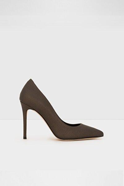 Aldo Kadın Haki Süet Topuklu Ayakkabı