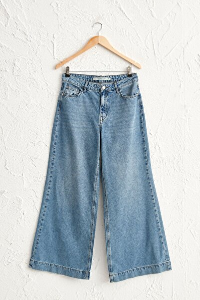LC Waikiki Kadın Orta Rodeo H45 Jeans 0WCF40Z8