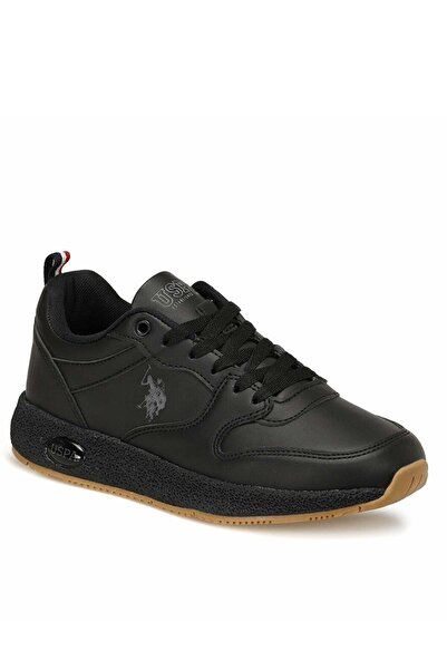 U.S POLO Unisex Siyah Polo Angel Sneaker
