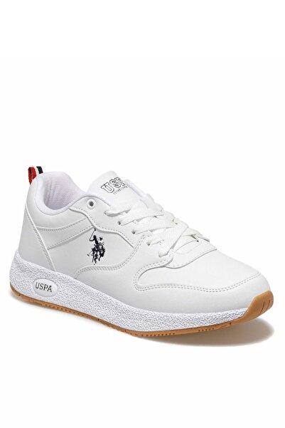 U.S POLO Unisex Beyaz Polo Angel Ayakkabı