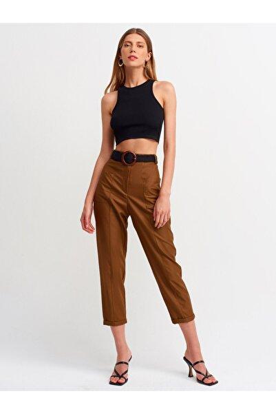 Dilvin Kadın Kahverengi Pantolon