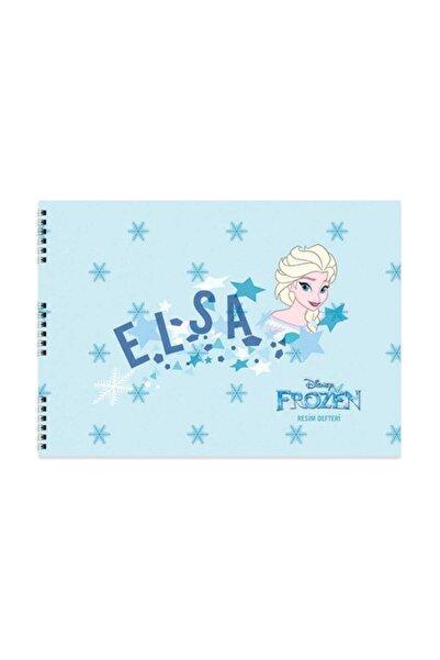 KESKİN COLOR Frozen Elsa Resim Defteri 25X35 Cm No.7105