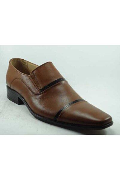 Anıl Erkek Açık Kahverengi Hakiki Deri Ayakkabı
