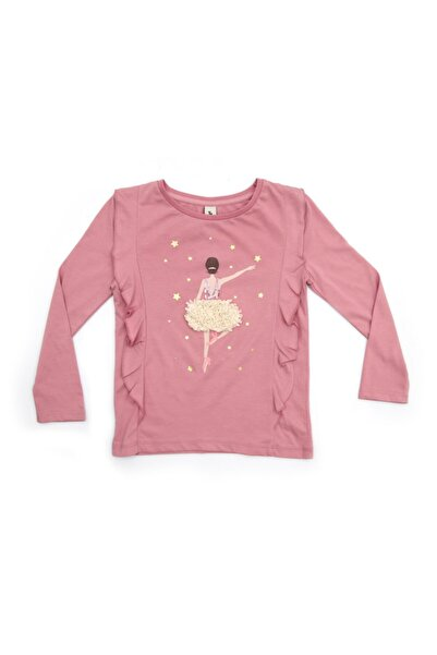 KOZZA Kız Bebek Pembe T-shirt