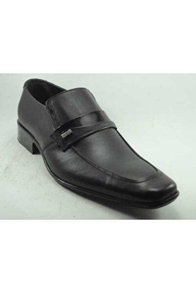 Anıl Erkek Siyah Hakiki Deri Ayakkabı
