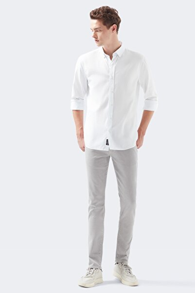 Mavi Jake Comfort Gri Gabardin Pantolon