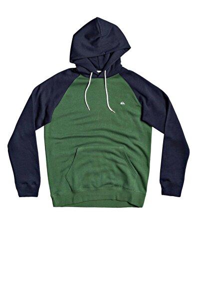 Quiksilver Erkek Yeşil  Sweatshırt Eqyft04137-gsg0