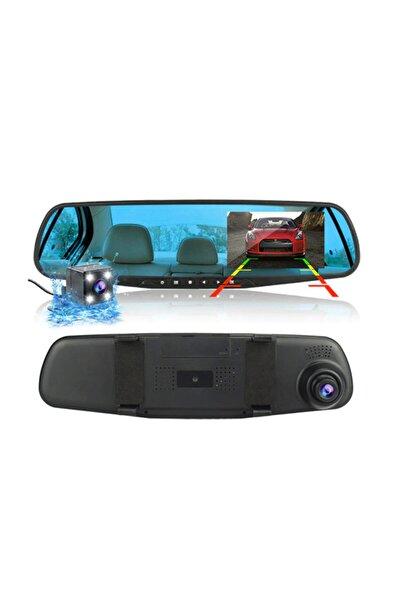Gomax Kameralı Dikiz Aynası Geri Görüş Kameralı Park Sensörü 1080p