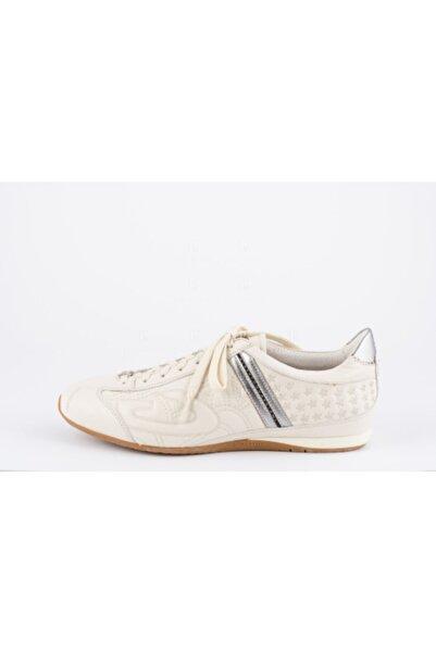 ALBERTO GUARDIANI Erkek Beyaz Hakiki Deri Sneakers