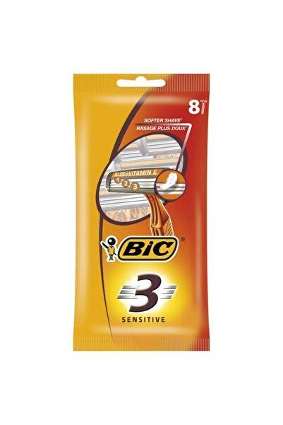 Bic Bıc 3 Sensitive Tıraş Bıçağı 8li Poşet