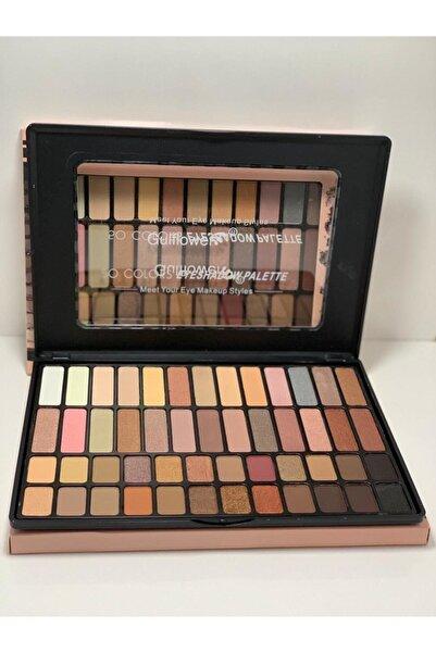 GulFlower 50 Colors Eyeshadow Palette