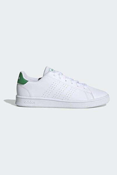 adidas Kadın Yeşil Beyaz Ef0213 Advantage K Spor Ayakkabı