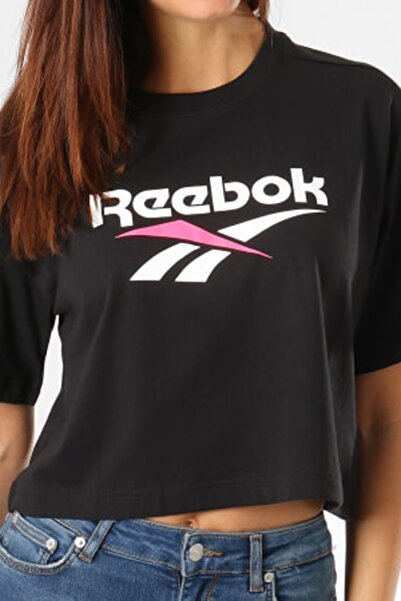 Reebok Kadın Spor T-Shirt - Cl V Cropeed Tee