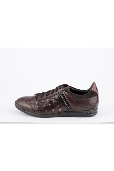 ALBERTO GUARDIANI Erkek Kahverengi Sneakers