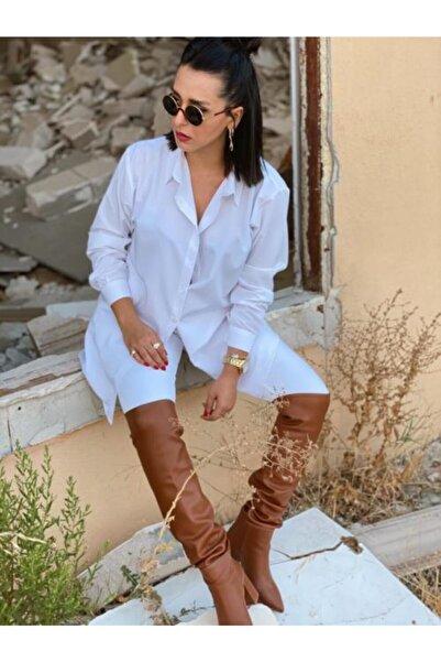 Reine Boutique Kadın Beyaz Gömlek