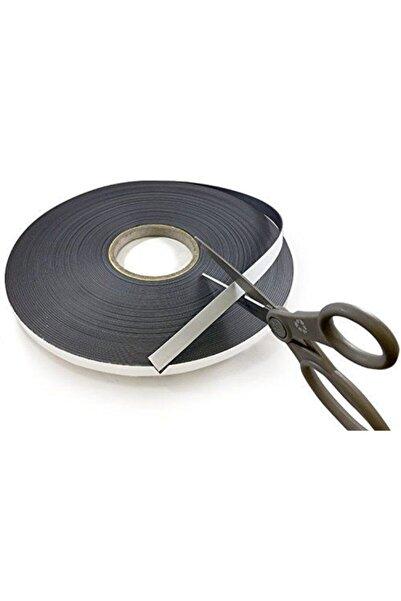 Dünya Magnet 15 Metre Yapışkanlı Şerit Mıknatıs Magnet Mıknatısı - 3m Yapışkanlı - 15 Metre Uzunluk -en 12mm