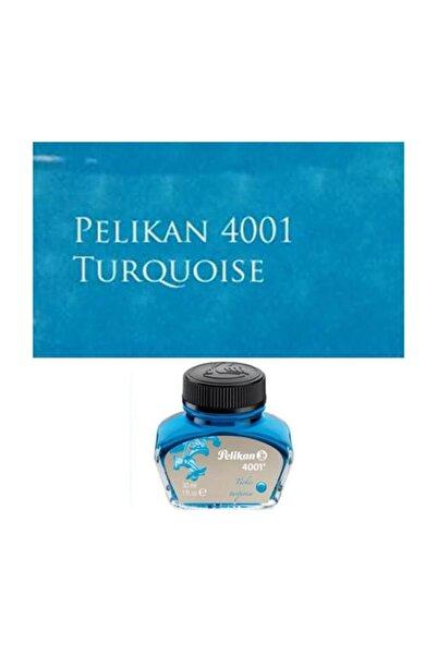 Pelikan 4001 Dolmakalem Mürekkebi 30 Ml. Turkuaz