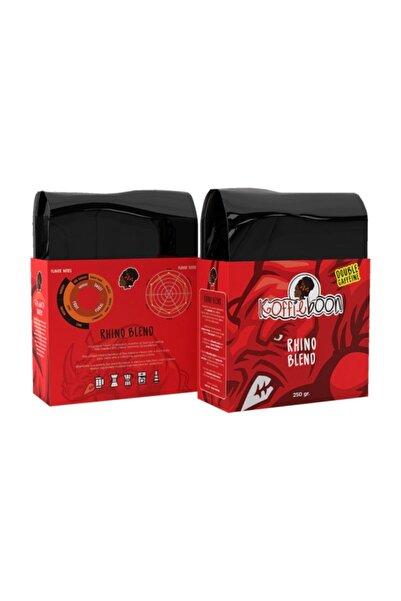 KOFFIEBOON 2 Kat Kafeın Kahve -1 Kg - 4 X 250 gr - Sporcu Kahvesi - Uyandıran Leziz Kahve