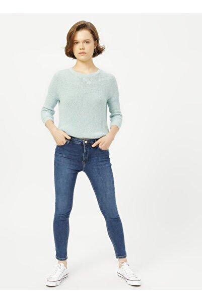 Loft Lf2025956 Kadın Nıcole Mersa Mıd Wash W Denim Pantolon 20k