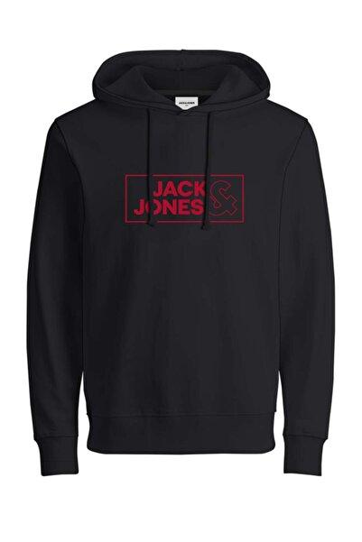 Jack & Jones Erkek Siyah Sweatshirt