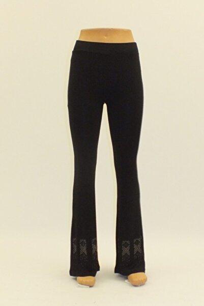 Otto Kadın Pantolon Paça Taş Işil Ispanyol Paca Pantolon