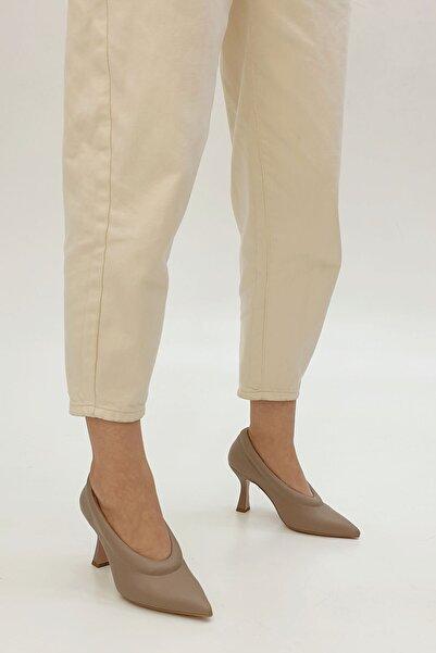 Marjin Kadın Zunga Stiletto Topuklu Ayakkabıvizon