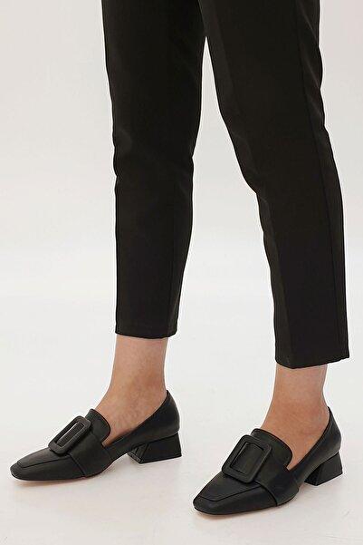 Marjin Kadın Jiyona Topuklu Ayakkabısiyah