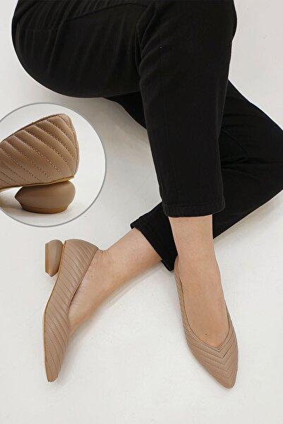 Marjin Kadın Karvelo Klasik Topuklu Ayakkabıvizon