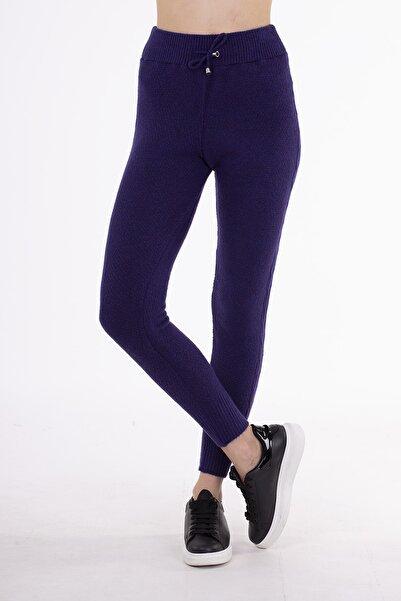STAMINA Kadın  Mor Premium Bayan Pantolon-4ız07