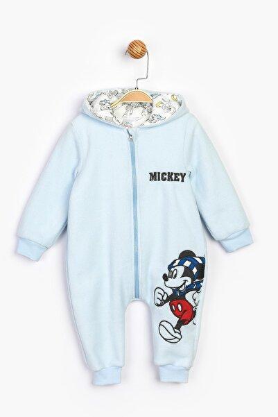 Mickey Mouse Mickey Kapüşonlu Polar Tulum