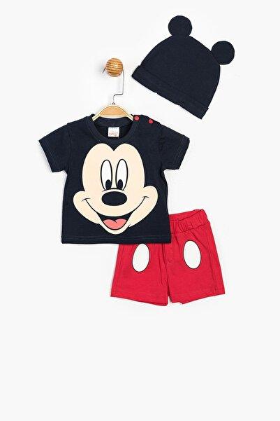 Mickey Mouse Disney Şortlu Takım ve Şapka 15593