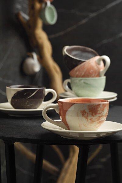 Kütahya Porselen Stella Double Kahve Takımı Mix Hypnose