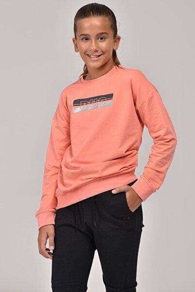 bilcee Pembe Unisex Çocuk Sweatshirt FW-1482