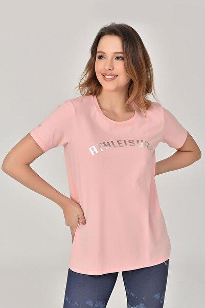 bilcee A.Pembe Kadın T-Shirt GS-8618