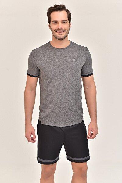 bilcee Erkek Antrasit T-Shirt GS-8882