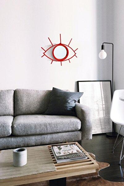 karacadesignoffice Metal Göz Ayna Dekoratif