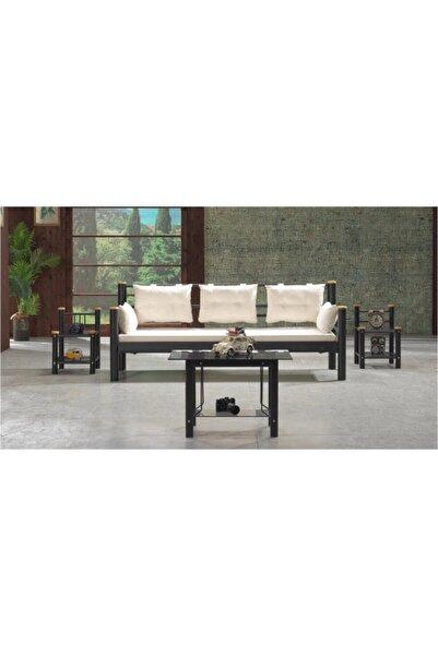 Vivense Kappis Dks Metal Sofa Sedir Siyah 70x200cm