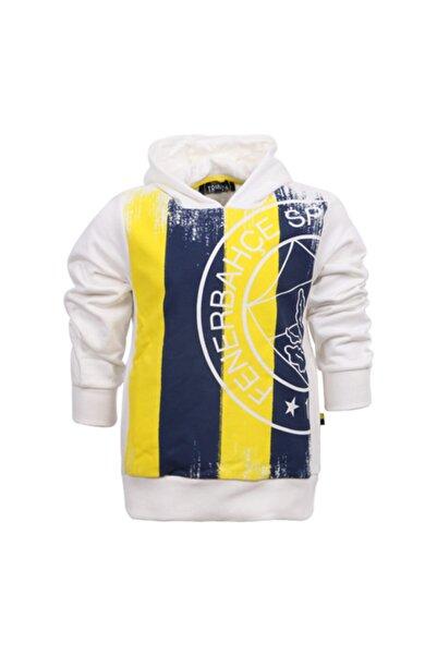 Fenerbahçe Çocuk Trıbun Bayrak Tek Renk Logo Sweatshirt