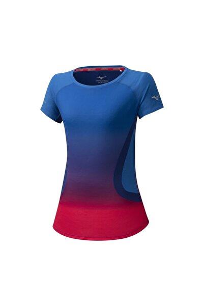MIZUNO Kadın Mavi T-shirt