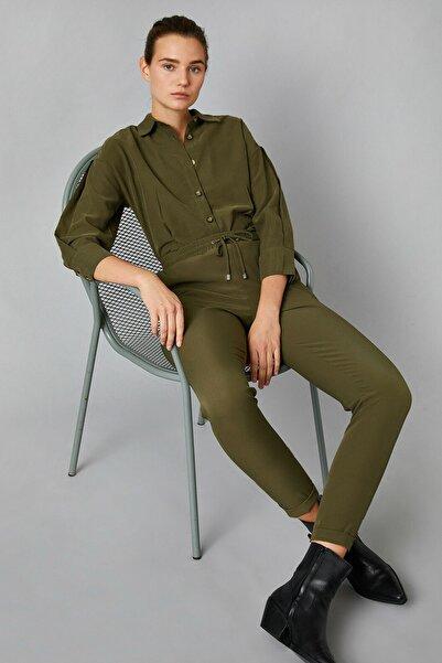 Koton Kadın Haki Jeans 1KAK48975PW