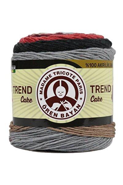 Ören Bayan Trend Cake Batik El Örgü İpi 627