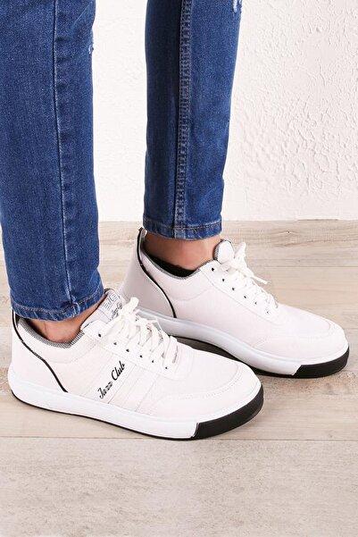 Zafoni Erkek Beyaz Spor Ayakkabı