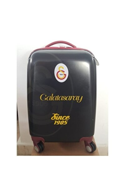 Galatasaray Unisex Siyah Abs Bavul Kabin Boy