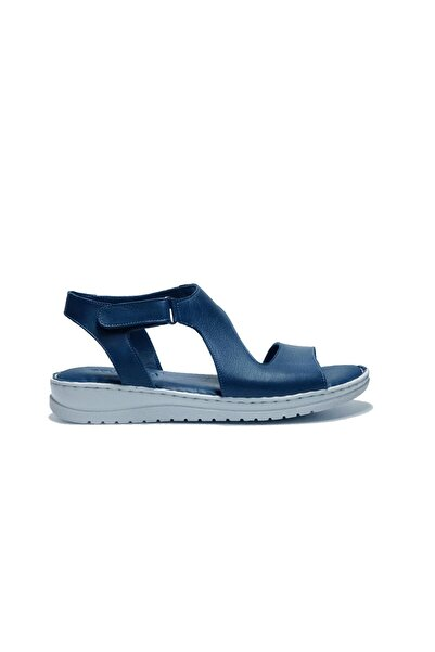 Bulldozer Kadın Mavi Sandalet