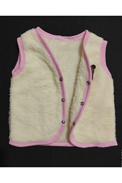 BABYİBO %100 Pamuk Yünlü Kız Erkek Bebek Kışlık Yelek Bebek Badi Yelek