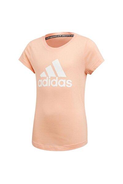 adidas Yg Mh Bos Tee Kız Çocuk Pembe Günlük T-Shirt Ed4606