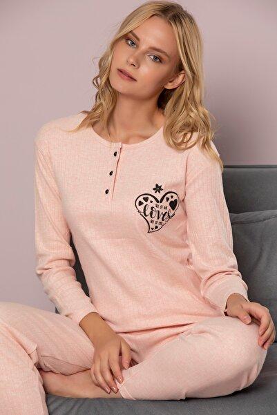STRAWBERRY Kadın Yavru Ağzi Pamuklu Interlok Pijama Takimi