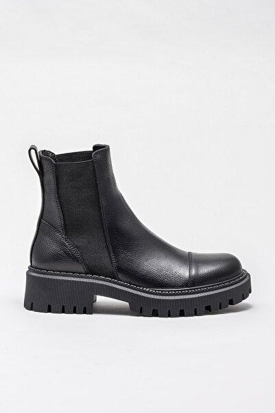 Elle Shoes Kadın Fontelle Sıyah Bot & Bootie 20KIKM114