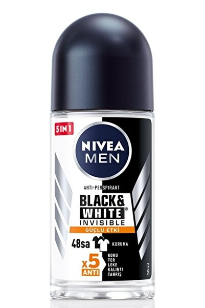 Nivea Nıvea Erkek Roll On 50 Ml Black & White Invısible Güçlü Etki