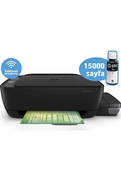 HP Ink Tank Wireless 415 Fotokopi + Tarayıcı + Wı-fı Mürekkep Püskürtmeli Tanklı Yazıcı Z4b53a